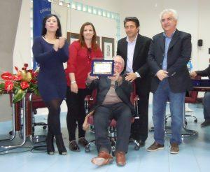 Medaglia d'oroal valore sportivo per Cambria