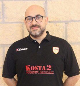 Il tecnico del Mondo Volley, Peppe Tricomi