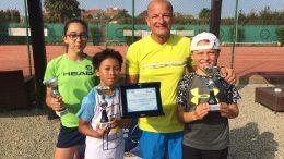 La squadra del Circoletto dei Laghi U12 campione regionale Promo Green