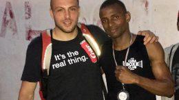 Rinaldi e Oulare A.S.D.Cuba Boxe Club