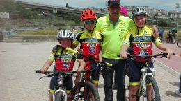 Team Bike 2000impegnati a Caltanissetta