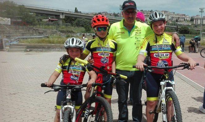 Team Bike 2000impegnati a Caltanissetta