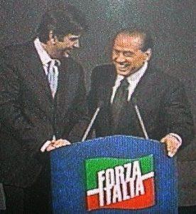 Ragno e Berlusconi