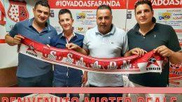 Antonio Reale, nuovo allenatore della Sfarandina