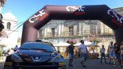 La Peugeot dell'apripista Marco Pollara