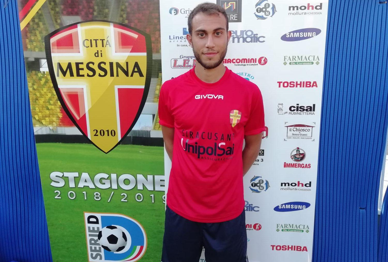 Cristian Ferraù, centrocampista del Città di Messina