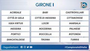 Il quadro del girone I di Serie D per la stagione 2018/19