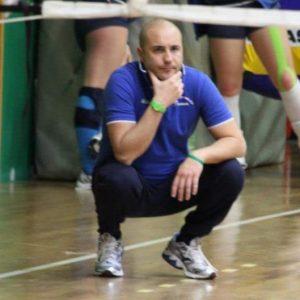 L'allenatore del Messana Tremonti, Alessandro Brigandì