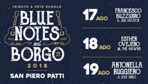 La copertina di Blue Notes nel Borgo per l edizione 2018