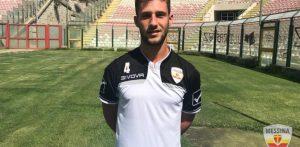 Luca Pizzo, attaccante del Messina