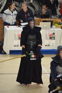 Dario Baeli in un combattimento