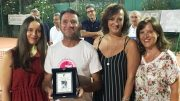 La consegna del premio Andaloro a Maurizio Fragomeni
