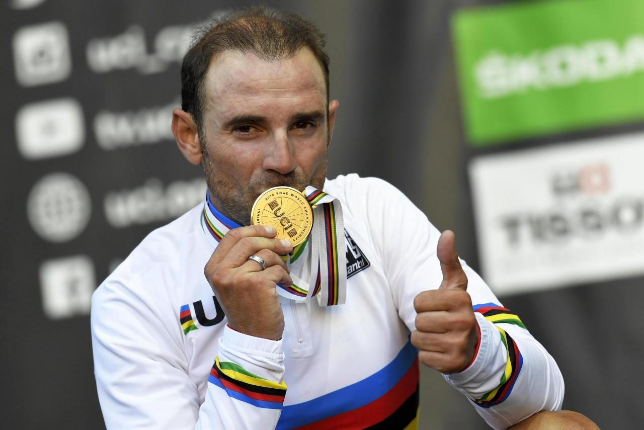 Innsbruck: Valverde è campione del mondo, Moscon quinto