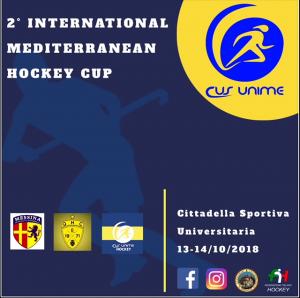 la locandina della 2° International Mediterranean Cup