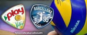 logo Play Volley e Barcellona 95