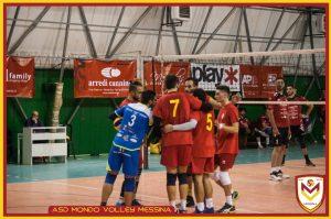 esultanza atleti Mondo Volley