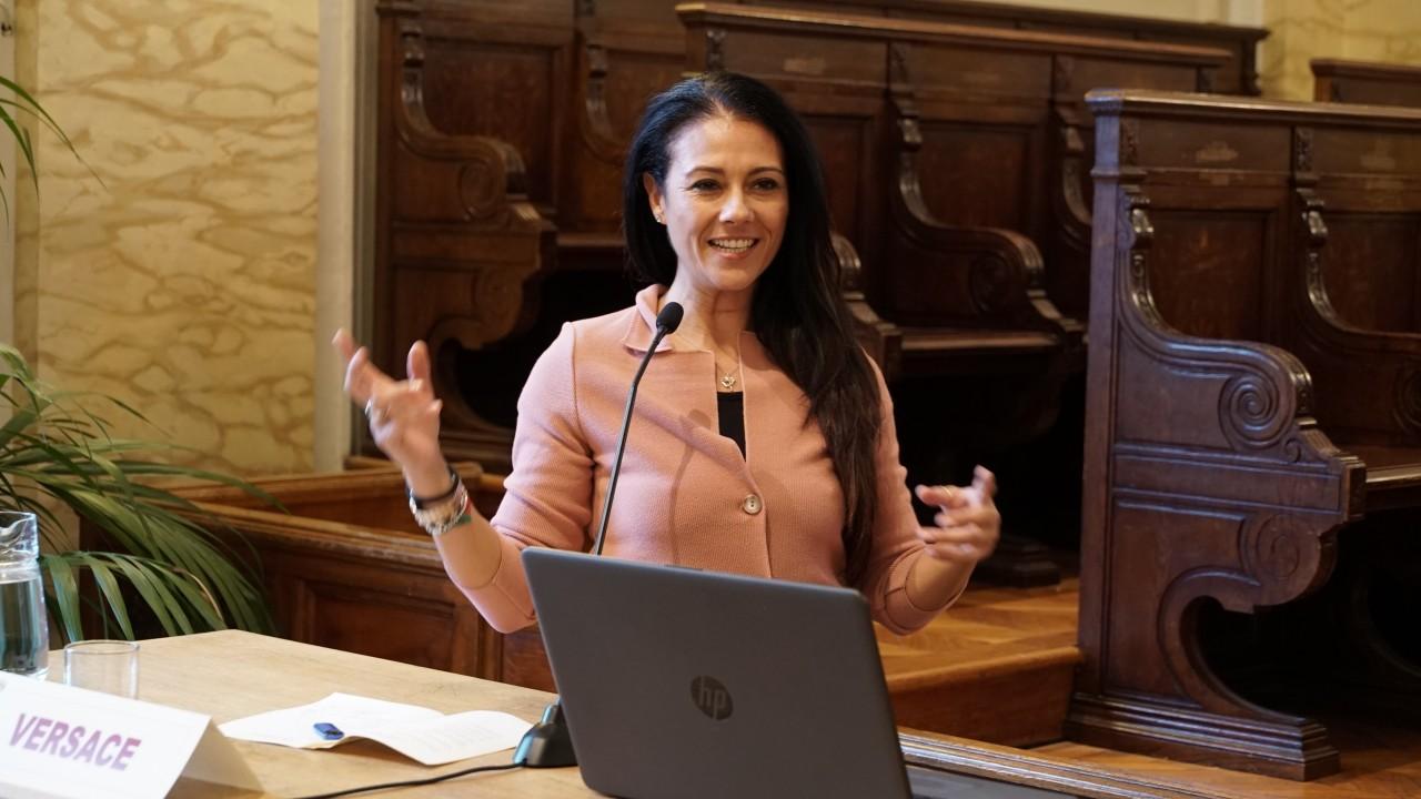 L'On. Giusy Versace ospite della giornata inaugurale della Settimana del Diritto Sportivo all'Università di Messina