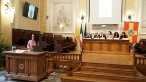 L'intervento dell'On. Giusy Versace ospite della giornata inaugurale della Settimana del Diritto Sportivo all'Università di Messina