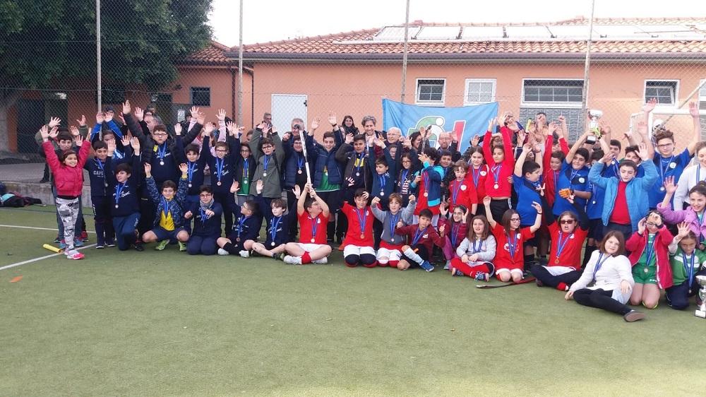 Foto di gruppo delle formazioni partecipanti al 1° Trofeo Sant'Agata