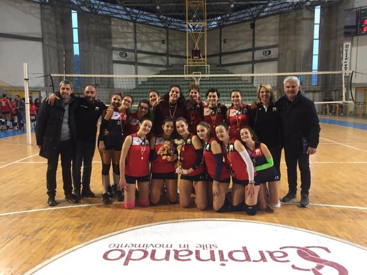 La Saracena ha vinto il titolo territoriale Under 16