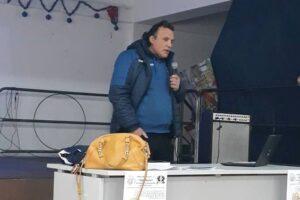 Il tecnico Tito Cicciò parla agli studenti