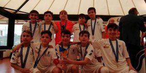 Aga Messina si è classifica prima nel torneo di calcio a 7 per la categoria Giovanissimi
