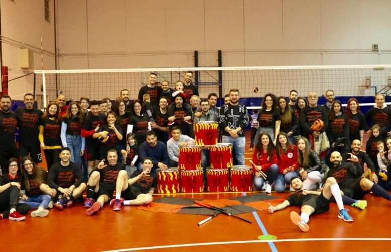 Gruppo Media Volley festa promozione