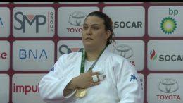 Carolina Costa sul podio