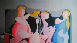 Un'opera del maestro Carmelo Garigali, di ritorno a Messina dopo 30 anni