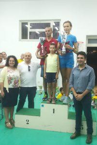 Sul podio Nastasi e Sukharyna