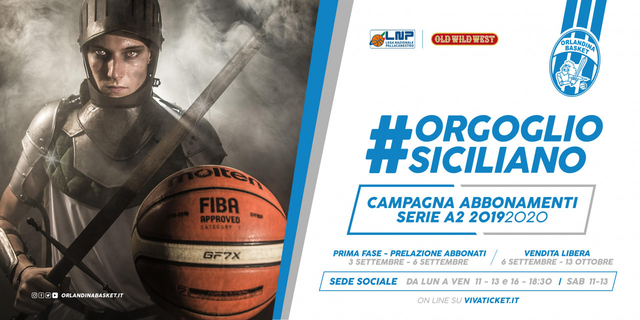 Campagna abbonamenti Orlandina Basket