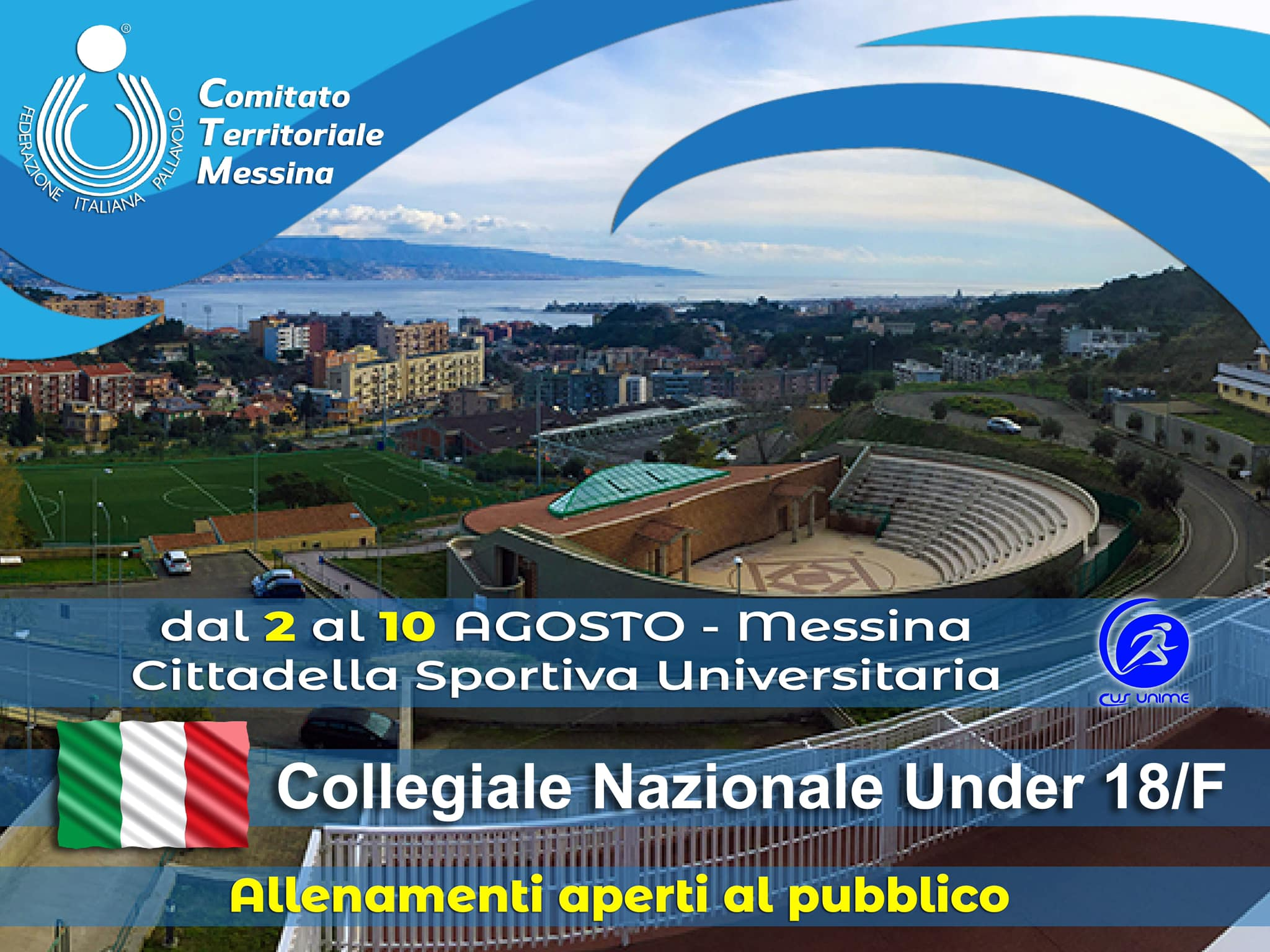 Italia Under 18 femminile a Messina