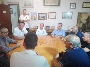 La presentazione ha coinvolto il sindaco di Capri Leone, Filippo Borrello