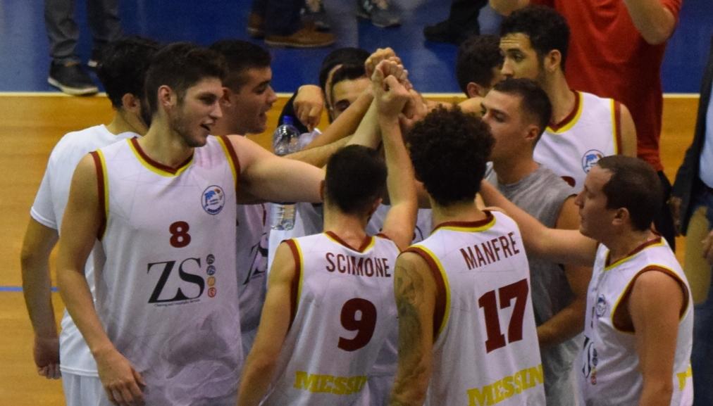 Basket School Messina a centrocampo