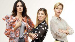 Maria Grazia Cucinotta, Michela Andreozzi e Vittoria Belvedere