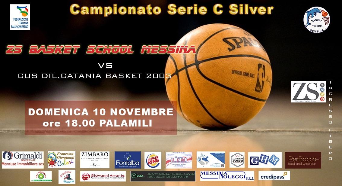 Locandina Basket School Cus Catania