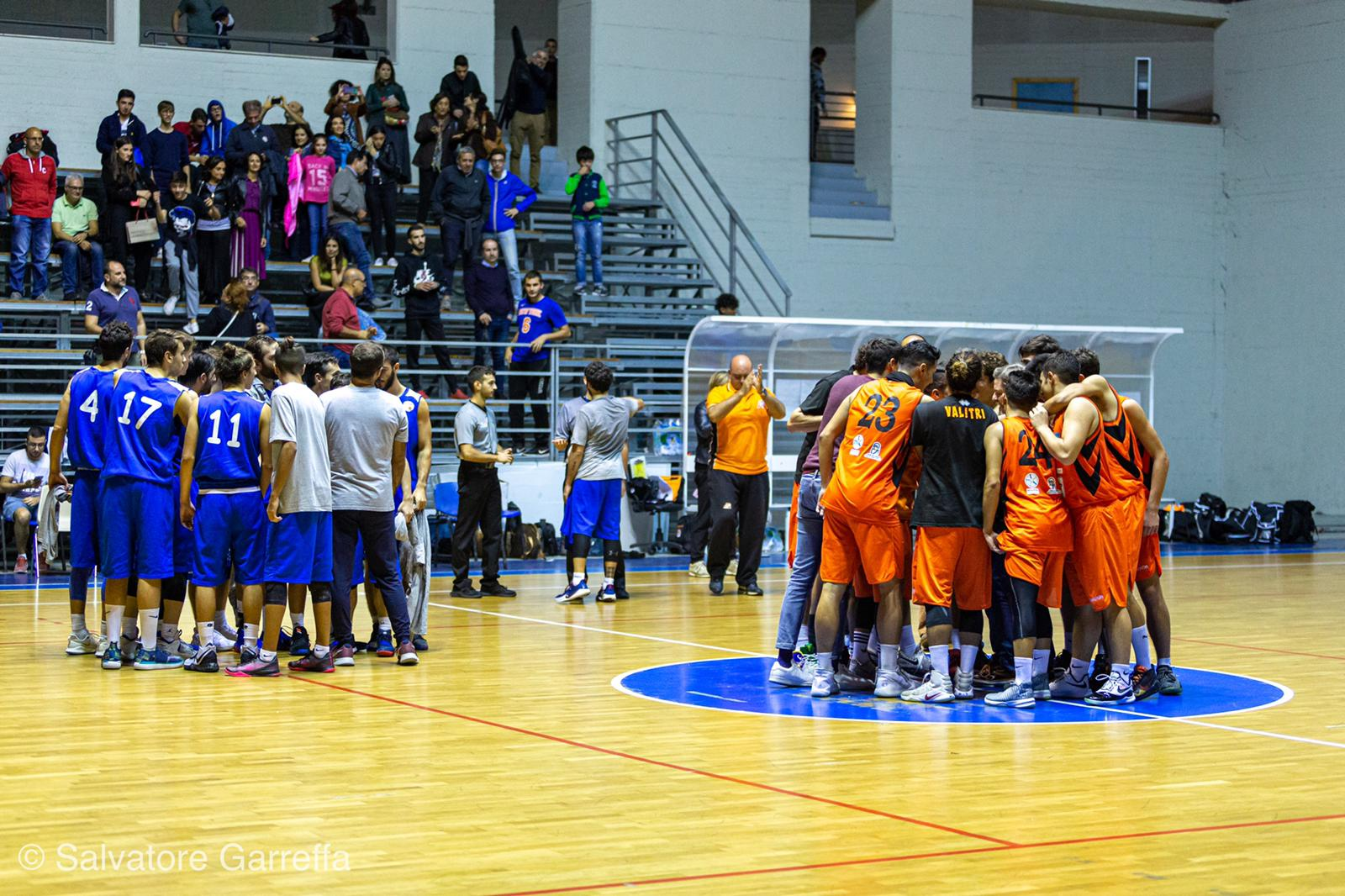 Tricenter Amatori Basket Messina festeggia la vittoria sul San Luigi Acireale photo Salvatore Garreffa