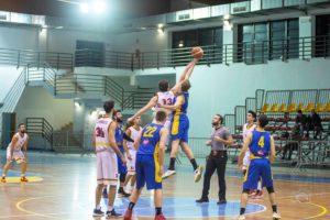 BSM Giarre palla a due (Foto Giovanni Mazzullo)
