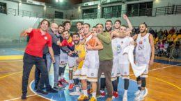 BSM Festeggia il successo sulla capolista Alfa (Foto Giovanni Mazzullo)