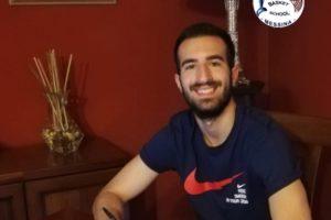 Cristiano Scimone #9 firma per la Basket School