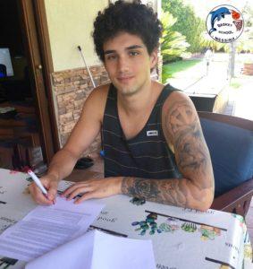 Federico Manfrè firma per la Basket School Messina