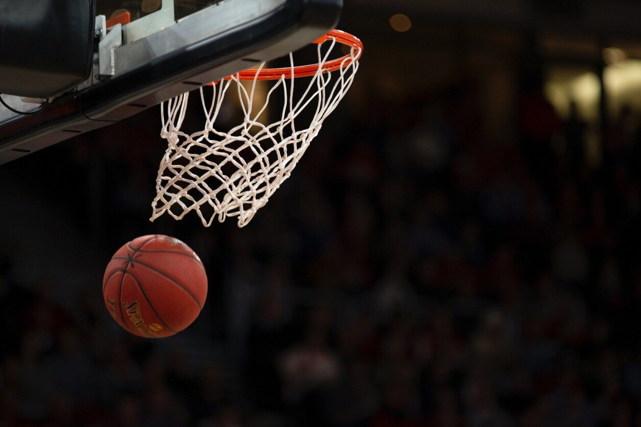 Un pallone da basket