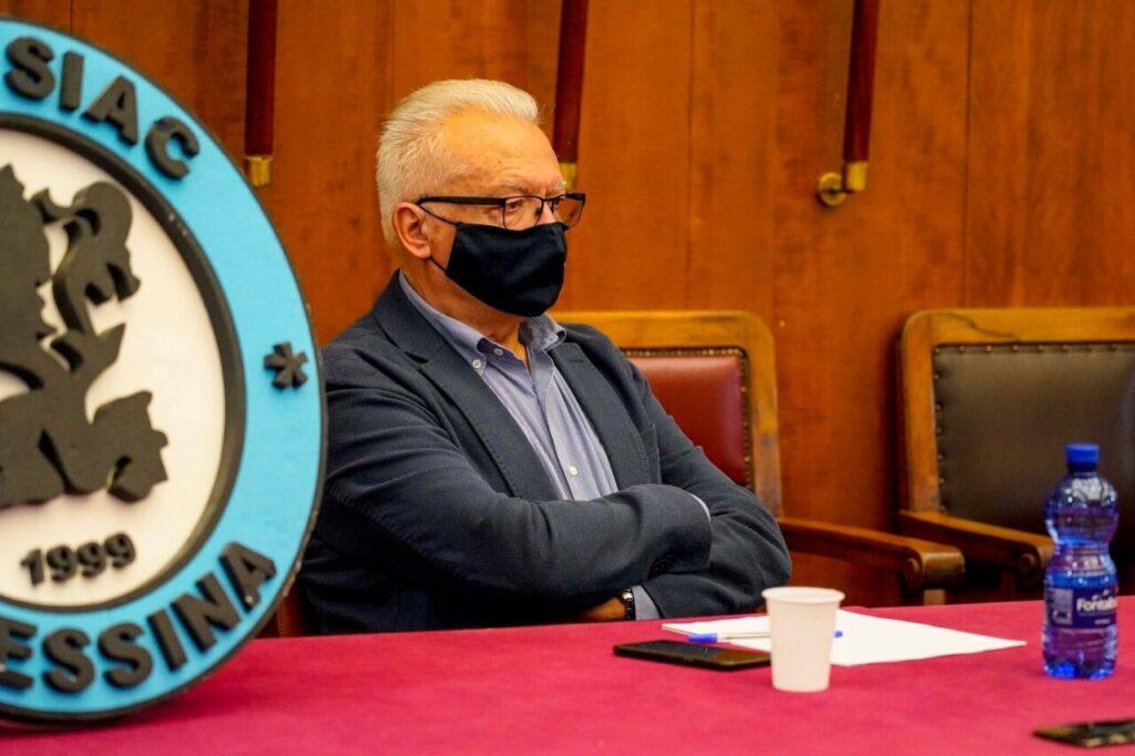 Il dg Salvatore La Mendola presenta la stagione della Siac Messina