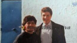Maradona e Cecere