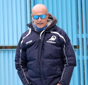 L'allenatore Nicola Germanà