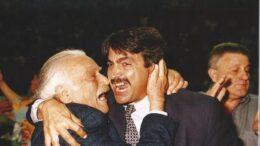 Eduardo Capizzi celebra un successo