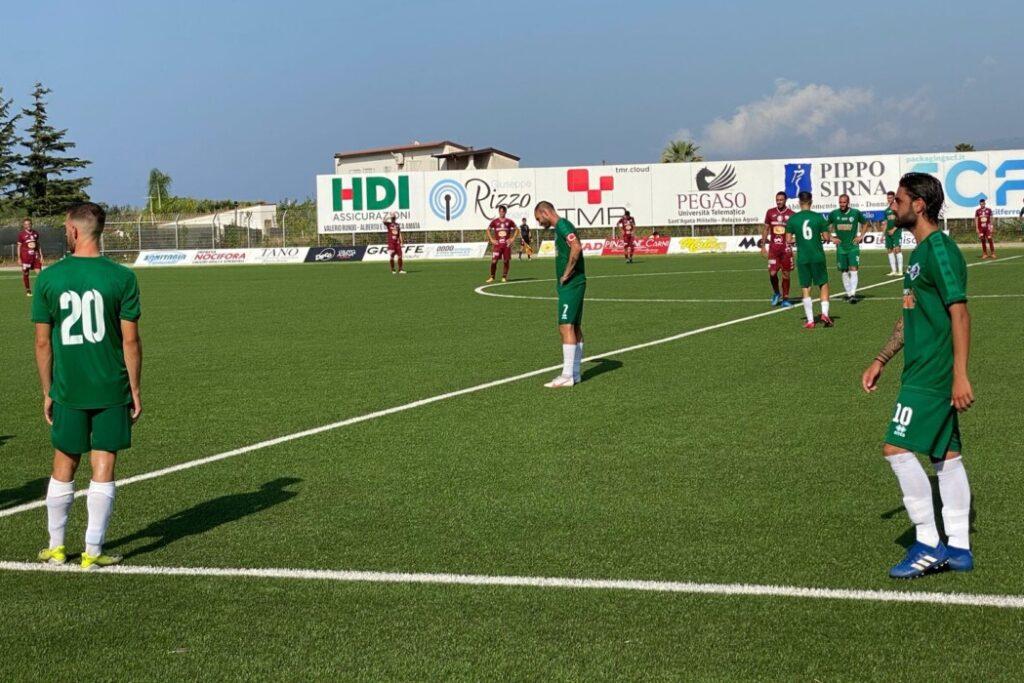 """Sant'Agata, non basta una prova coraggiosa. Il Trapani passa 2-1 al """"Fresina"""""""